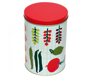 Holland design, homeware, Kitchen, Kitsch Kitchen storage tin green