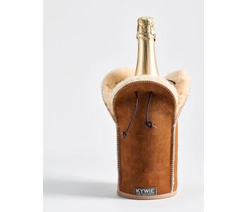 Kywie Wooler Champagne koeler van Camel bont