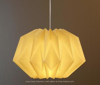 Ilyas Small Chamois Hanglamp van Danielle Origami Lampen bestel je bij shop.holland.com