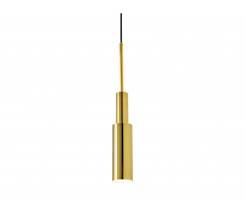 Skylight Tower Two Hanging Lamp - Gold