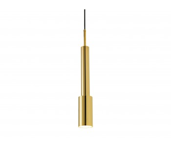 Skylight Tower Three Hanging Lamp - Gold