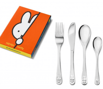 Miffy children's cutlery, children's gift cutlery