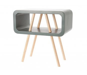 Leitmotiv Side Table Open Minded Large Grey Table