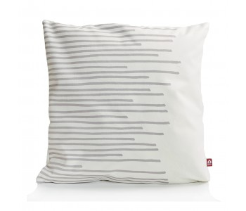 Make My Day Pillows Stripes in white-lightgrey