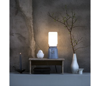 Oil lamp with fitting Meck Corunnum Kranen/Gille