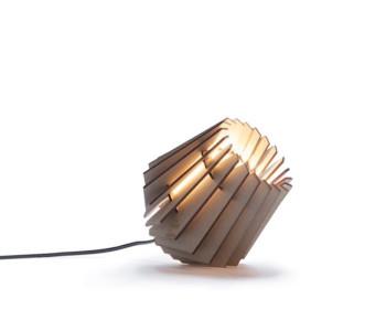 Homeware, lighting, wooden do-it-yourself designer lamp Tjalle & Jasper, kit