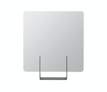 Look Spiegel van het Dutch Design Merk Ignore vierkant antraciet
