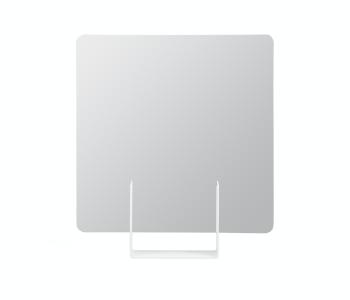 Look spiegel van Dutch design merk Ignore vierkant wit