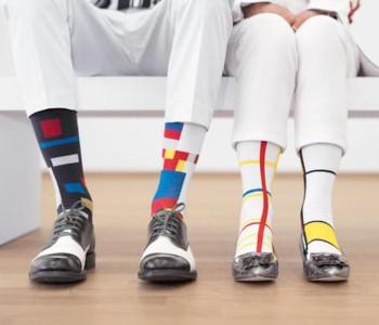 ON Socks Mondriaan en De Stijl sokken - maat 36-42
