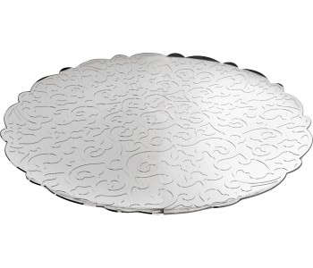Dutch design stainless steel tray design Marcel Wanders for Alessi