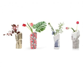 Paper Vase Cover from Pepe Heykoop and Tiny Miracles Foundation