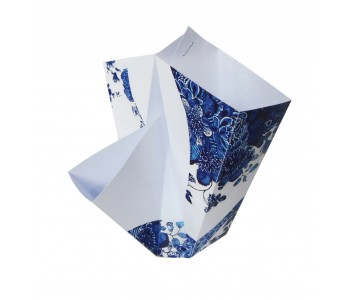 Folding Vase Delftware BY HENDRIK 1