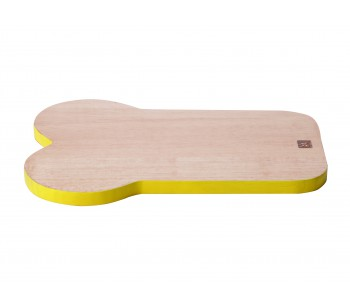 Present Time Chopping Board Sandwich Yellow
