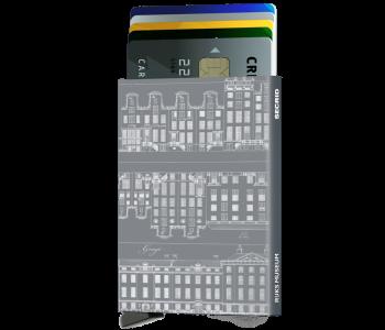Secrid Cardprotector Grachtenpandjes titanium - een handig en mooi cadeau