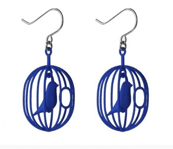 Feeling blue? These Happy Bird earrings make your happy again