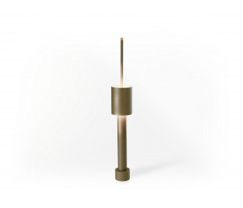 Table Tower Table Lamp - Copper green