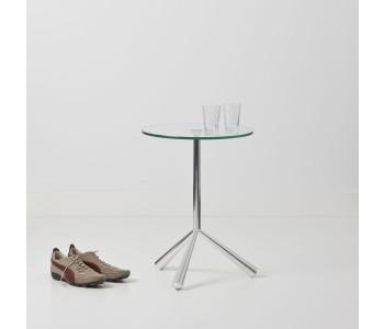 Glass designer tables Tripodii Cascando