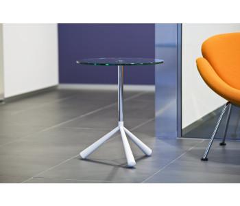 Designer side tables Tripodi Cascando white