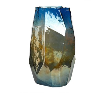 Pols Potten Vase Graphic Luster multicolored glass; great gift