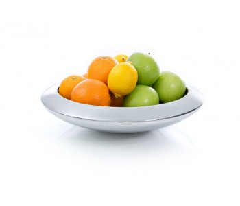 Aireado fruit bowl by Royal VKB in the color silver