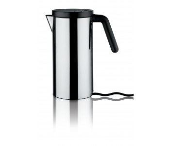 Alessi Hot.It stainless steel electric kettle by Wiel Arets