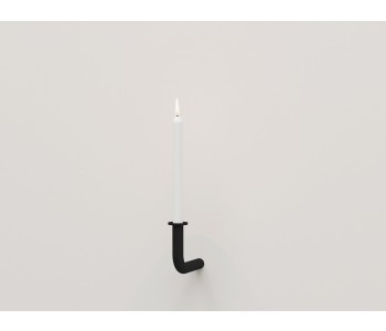 Candlestick design Frederik Roijé Walk of Flame dark grey