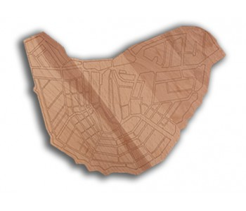 The wooden serving tray with Amsterdam Canals I amsterdam