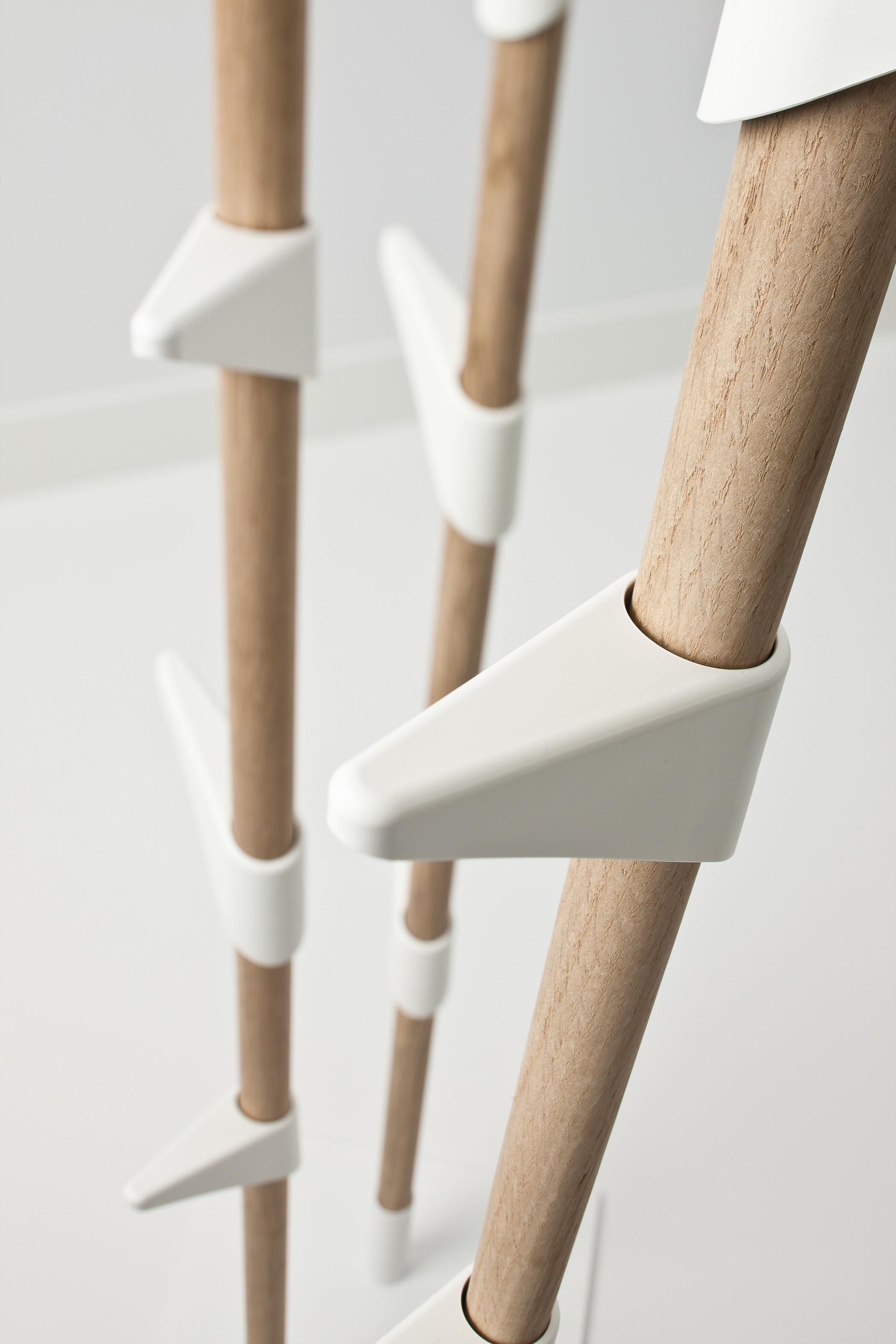 Bamboo 3 Coat Rack Cascando On Shop Holland Com