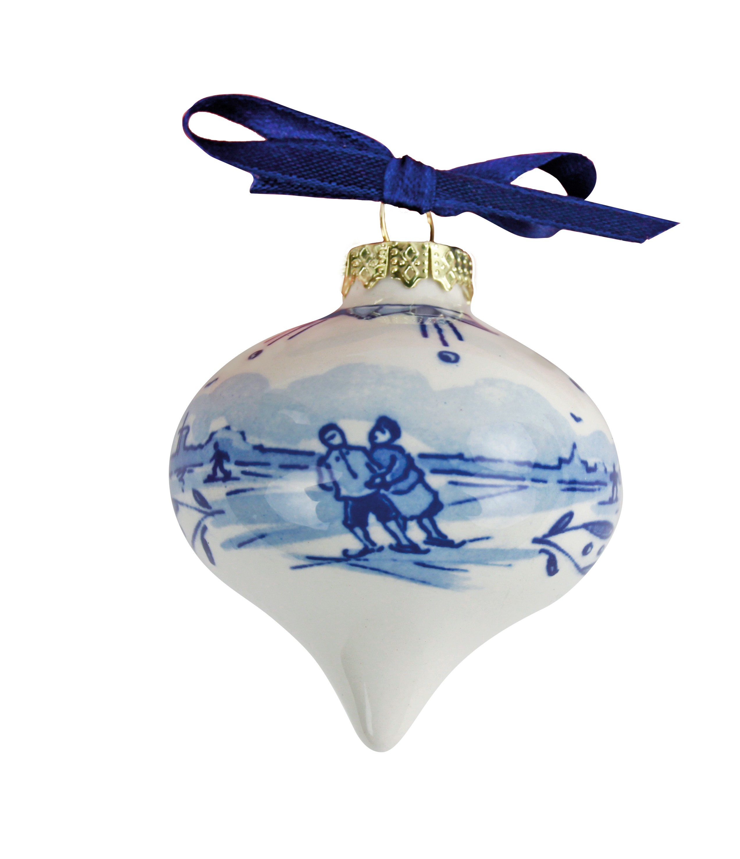 Superb Delft Blue Christmas Ornaments Part - 11: ... Original Delft Blue Christmas Drop 6 Cm By Royal Delft To Put In Your Christmas  Tree ...