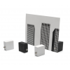 Basic Zero Card Stand - set of 4 in black and white