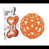 Foooty foldable football - Orange