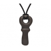 Soonsalon necklace liquorice key