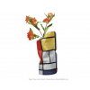 Paper Vase Cover Small - Mondrian