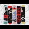 ON Socks Voodoo Punk  socks - Set of 5 different ones