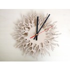Coral Branch Clock