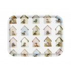 Studio Ditte serving tray with bird houses
