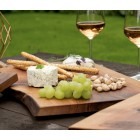 Robuust wooden chopping boards - 5 wood types - 30-40 x 25-30 cm