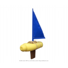 Goods Bottle Boat toy boat  - blue