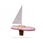 Goods Bottle Boat toy boat  - white