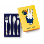 Zilverstad Miffy plays children's cutlery 4-piece