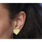 Candy Earrings in pink or yellow from STOOK Jewelry