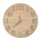 Oak Clock from CRE8
