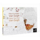 Coloring book Color your own Van Gogh
