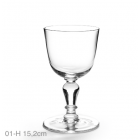 Clear Crystal Wine Glass 27 cl - Droog Design 305-01