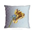 Hendrik' Design Cushion Cover Yellow Tulips 45x45 cm