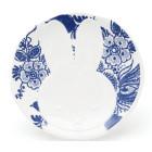 Miffy Plate in Delft blue by Hollandsche Waaren