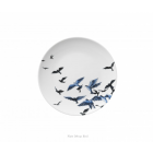 Delft Blue Plate with Birds