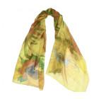 Van Gogh Sunflowers scarf