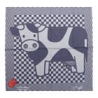 Tea Towel Cow by Hollandsche Waaren in blue and white