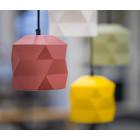 Trigami hanging lamp by Sabine van der Ham in 5 colors